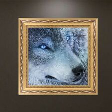 DIY Full 5D Diamond Embroidery Painting Wolf Cross Stitch Craft Home Decor