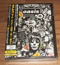 OASIS Japan PROMO limited BOX SET 2x DVD sealed NOEL GALLAGHER Lord Don't Slow