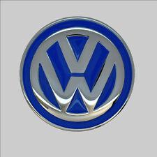 VW VOLKSWAGEN in licenza BELT FIBBIA CINTURA EMBLEMA LOGO 627 Blu