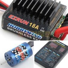 Hobbywing EZRUN 18A 18T 2030 5200kv Brushless Combo for 1/16 1/18 RC Car Truck