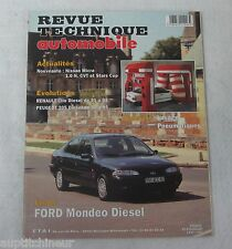 Revue technique automobile RTA 573 1995 Ford mondeo diesel