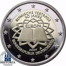 2 Euro Münze Römische Verträge Günstig Kaufen Ebay