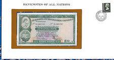 Banknotes of All Nations Hong Kong 10 Dollars 1978 P182h Unc Prefix Rj