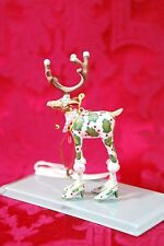 "Patience Brewster Krinkles Mini DASH AWAY VIXEN Christmas Ornament NIB 5"" Tall"