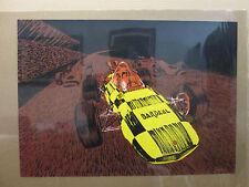 Vintage Bardahl Racing car Black light Poster 1970's 11574