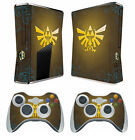 Zelda 255 Vinyl Decal Cover Skin Sticker for Xbox360 slim and 2 controller skins