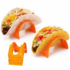 4 Pc Taco Stands Tortilla Shell Fajita Holder Rack Stand Dinner Table Kids Party