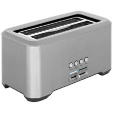 Sage BTA730UK The Bit More 4 Slice 4 Slice Toaster Stainless Steel New from AO