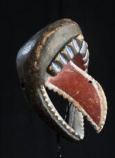 Songye Zoomorphic Mask, D.R. Congo, African Tribal Art
