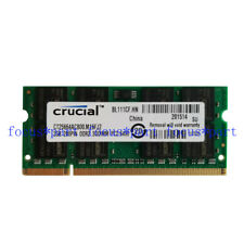 CRucial 2GB DDR2 PC2-6400 DDR2-800MHZ Sodimm Laptop Memory ram notebook