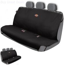 New Pet Rear Back Seat Cover Waterproof Dog Car Protector For SUV Bench Mat Blk