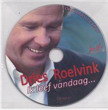 Dries Roelvink-Ik Leef Vandaag promo cd single
