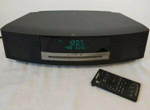 BOSE Wave Music System Speaker CD Player FM AM Radio Model AWRCC1 W/ Remote