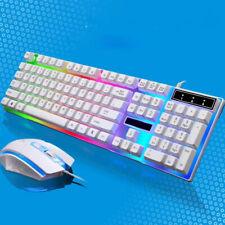 Pro clavier souris Kit adaptateur pour un PS4/PS3/Xbox 360 jeux Rainbow LED