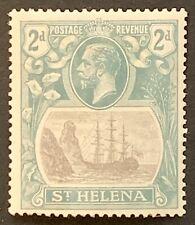 St HELENA. 1922-37 2d. 'Torn Flag'. Excellent Rare Item SG100b. Cat £325 (LC162)