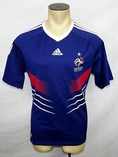 2009-2011 Adidas France home football soccer jersey shirt size Large