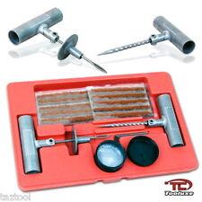 25pc Tire Repair Kit Flat Tire Repair Car Truck Motorcycle Home Plug Patch Tools