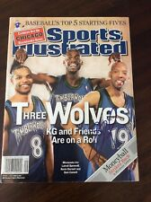 Sam Cassell Signed Sports Illustrated Timberwolves
