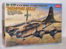 "ACADEMY #2188 1/72 USAAF B-17F ""MEMPHIS BELLE"" KIT W/Bonus Figurine OPEN"