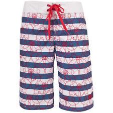 Cotton Striped Plus Size Shorts for Women