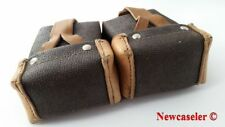 Authentic Soviet Russian army Mosin Nagant leather Pebble Texture ammo pouch