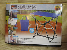 TOTAL VISION CHAIR TO GO W/CARRY BAG CAMPING NEW IN BOX LIGHTWEIGHT