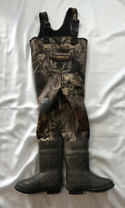 LaCrosse Neoprene Size 3 Youth Waders Model 700014 Mossy Oak Waterfowl Duck Fish