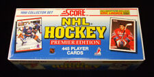 1990-91 Score Hockey Factory Set (445 Cards) * English Brodeur Rookie Lindros