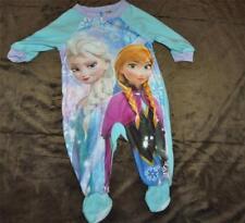 Disney Frozen Elsa & Anna Baby Infant 12 Months Pajamas Long Sleeve One Piece