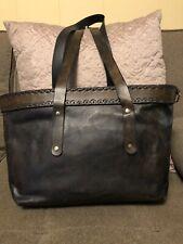 Brown Leather Tote Women Vintage Looking Genuine Shoulder Bag Handmade Purse