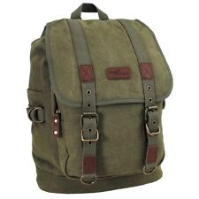 PURE TRASH Zaino Borsa Tracolla uomo donna militare Backpack canvas 30041B