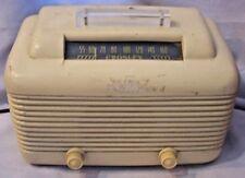 ANTIQUE 1948 CROSLEY MODEL #58TW BAKELITE TUBE RADIO FOR PARTS OR REPAIR