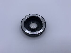 Fotodiox Lens Mount Adapter - Contax/Yashica (CY) SLR Lens to Nikon F Mount