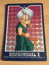 Carte Dragon Ball Z DBZ Hero Collection Part 4 #405 Prisme 1995 MADE IN JAPAN