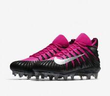 NEW - Nike Alpha Menace Elite Mid BCA Football Cleats Black Pink 918203-006 11.5
