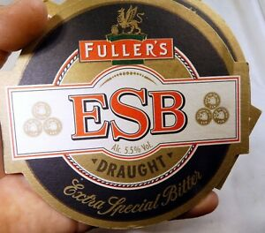 Fuller's ESB brewery Draught Ale Bar Coaster Beer lot 2  Free Shipping USA