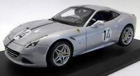 Burago 1/18 Scale Diecast 18-76103 Ferrari California T 70th Anniversary Silver