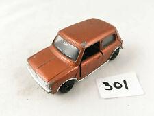 NICE DINKY TOYS # 178 MINI CLUBMAN DIECAST CAR BRONZE PLASTIC SPEEDWHEELS 1975