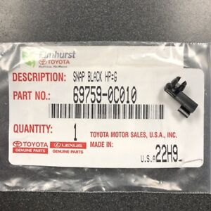 Genuine Toyota Sequoia & Tundra Hood Safety Catch Lever Snap Clip 69759-0C010