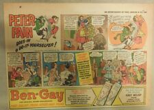 Ben-Gay Ad: Peter Pain: Does In A Do-It-Yourselfer ! 7 x 10 inches