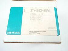 SIEMENS 3TY4803-0AP6 MAGNET COIL FOR CONTACTORS 240 VAC AT 60 HZ 220 VAC