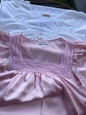 Two Vintage Barbizon Nightgowns. Small. Pink. White With Lace. Gorgeous.