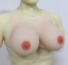 1200g DD Cup Realistic Silicone Breast Forms Crossdresser False Breasts Boobs
