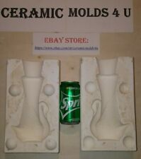 Holland Swan Vase Ceramic Mold# H1018