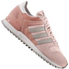 Scarpe da ginnastica rosa adidas camoscio per donna