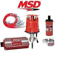 Msd Ignition Kit - Digital 6A/Distributor/Wires/Coil /Bracket - Chrysler 318-360