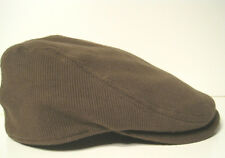 Stetson light brown corduroy ivy gatsby driving cap hat Medium