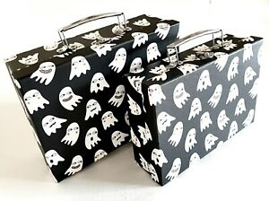 Halloween ghost gift boxes cardboard suitcase Twin set SUPERDEAL