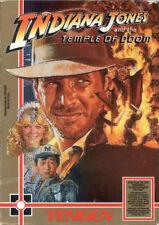 Indiana Jones and the Temple of Doom Tengen Nintendo Nes Tested Authentic