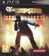 DEF JAM RAPSTAR for Playstation 3  PS3 - with box & manual